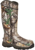 "Rocky Outdoor Boots Mens 16"" Core WP Rubber 11 D Realtree RKYS060"