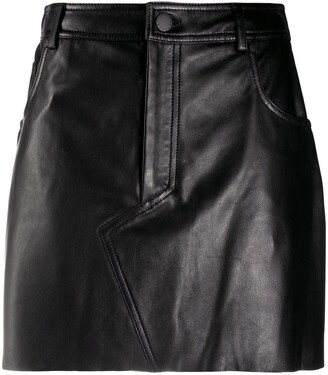 FEDERICA TOSI Straight Mini Skirt