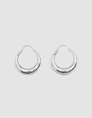 All Blues Women's Fat Baby Snake Earrings in Silver | Sterling Silver
