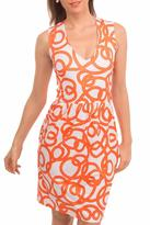 Gretchen Scott Printed Jersey Dress