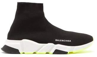 Balenciaga Speed Trainers - Mens - Black White