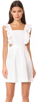 Madewell Eyelet Cutout Dress