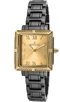 Invicta Women's 14906 Ceramics Gold Dial Black Watch