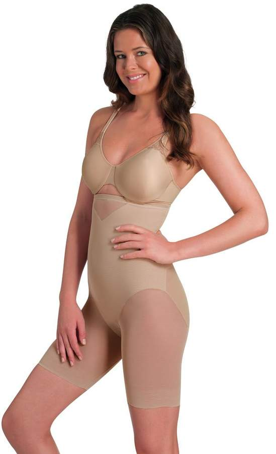 Miraclesuit Shapewear Sexy Sheer Hi-Waist Thigh Slimmer 2789