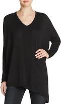 NYDJ Shimmer Asymmetric Sweater