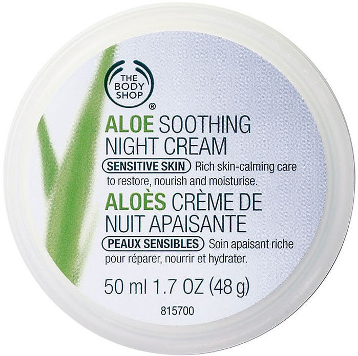 The Body Shop Aloe Soothing Night Cream 1.69 fl oz (50 ml)