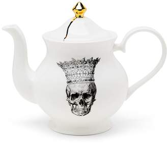 Melody Rose London - Skull In Crown Teapot