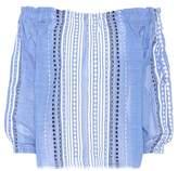 Lemlem Izara Rustic cotton-blend top