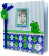 """AD Sutton """"Our Little Man"""" Memory Book in Blue/Green"""
