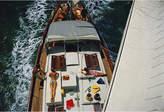 "Jonathan Adler Slim Aarons ""Deck Dwellers"" Photograph"