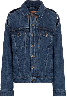 Y/Project Cutout denim jacket
