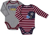 Lamaze 2 Pack Football Bodysuits (Baby) - Multicolor-12 Months