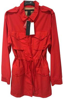 Marc by Marc Jacobs Red Cotton Trench coats