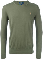 Polo Ralph Lauren crew-neck jumper - men - Cotton/Cashmere - S