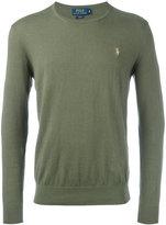 Polo Ralph Lauren crew-neck jumper - men - Cotton/Cashmere - XXL