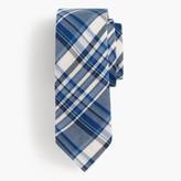 J.Crew Italian silk tie in blue plaid
