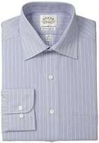 "Eagle Men's Regular Fit Non Iron Varigated Stripe, Blue Frost, 15.5"" Neck 34""-35"" Sleeve"