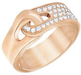 Swarovski Gallon 18K Rose Goldplated and Crystal PVD Ring