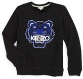 Kenzo Beaded Tiger Sweatshirt (Little Girls & Big Girls)