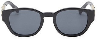 Le Specs Luxe Fort Panthere Round Sunglasses/50MM