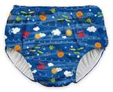 I Play Snap Sea Friends Swim Diaper in Royal Blue