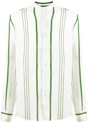 Peninsula Swimwear La Greca striped shirt