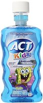 "ACT Anti-Cavity ""Sponge Bob"" Rinse for Kids, 16.9-Fluid Ounces Bottles (Pack of 6)"