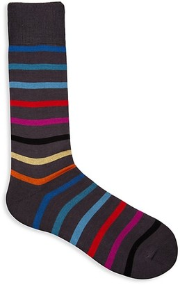 Paul Smith Striped Knit Socks
