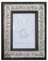 Repousse Wood and Nickel Photo Frame (4x6), 'Serpentine'