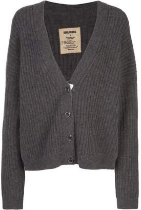 UMA WANG ribbed-knit loose-fit cardigan