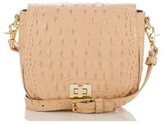 Brahmin Mini Sonny Leather Crossbody Bag - Orange