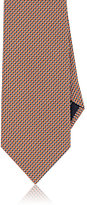 Brioni Men's Silk Foulard Necktie-ORANGE