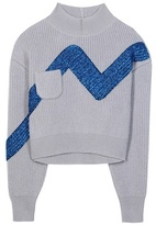 Vika Gazinskaya Wool And Metallic Sweater
