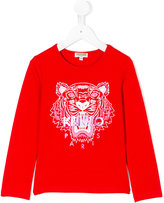 Kenzo Tiger top - kids - Cotton/Spandex/Elastane - 2 yrs