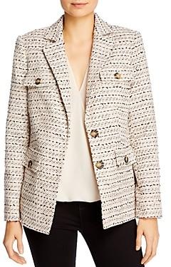 Karl Lagerfeld Paris Tweed Blazer
