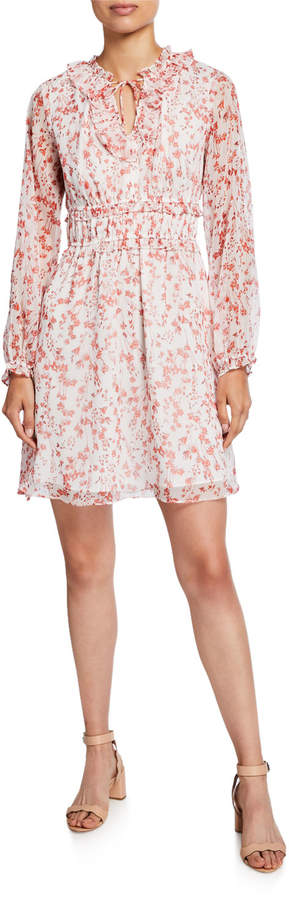 Cynthia Steffe Cece By Long Sleeve Heirloom Floret Dress