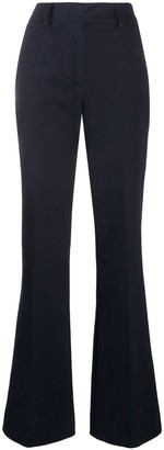 P.A.R.O.S.H. Casual Wide-Leg Trousers