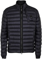 C.p. Company Navy Quilted Shell Jacket