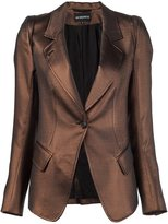 Ann Demeulemeester 'Burrough' blazer - women - Cotton/Polyester/Acetate - 36