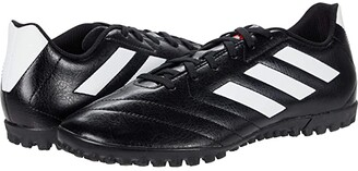 adidas Goletto VII Tf (Core Black/Footwear White/Red) Men's Shoes
