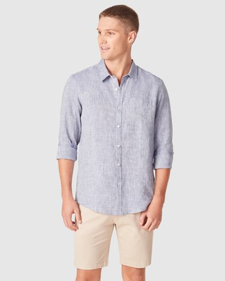 French Connection Men's Casual shirts - Linen Regular Fit Shirt - Size One Size, M at The Iconic