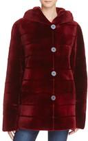 Maximilian Furs Reversible Sheared Saga Mink Coat - 100% Exclusive
