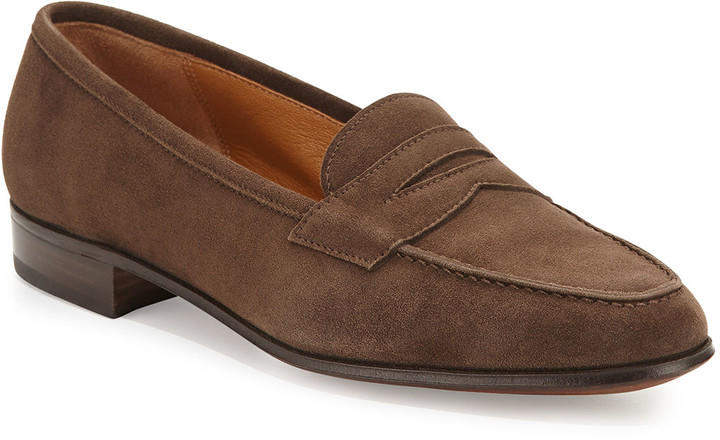 111905623b766 Suede Penny Keeper Loafer