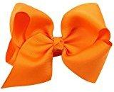 Canserin Children's Butterfly Knot Hair Clip (Orange)