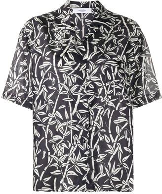 Roseanna Graphic Print Short-Sleeve Shirt