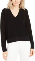 Eileen Fisher V-Neck Organic Cotton Sweater