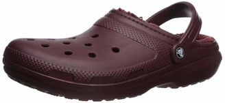Crocs Unisex Classic Lined Clog | Warm and Fuzzy Slippers