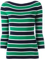 Michael Kors cashmere striped jumper - women - Cashmere - M