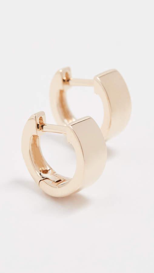 Ef Collection 14k Gold Jumbo Huggie Earrings