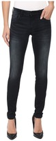 KUT from the Kloth Mia Toothpick Five-Pocket Skinny Jeans in Black